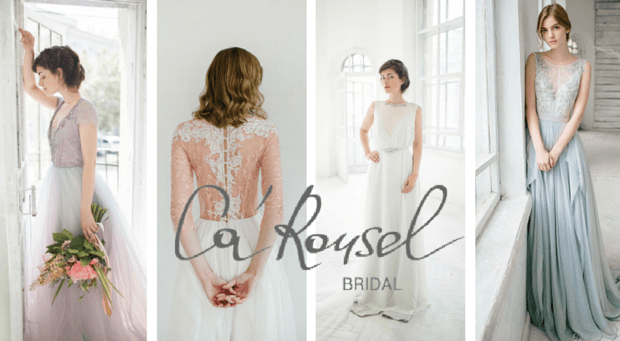 Ogromny Pastelowe suknie ślubne • Ca'Rousel Lookbook MS46
