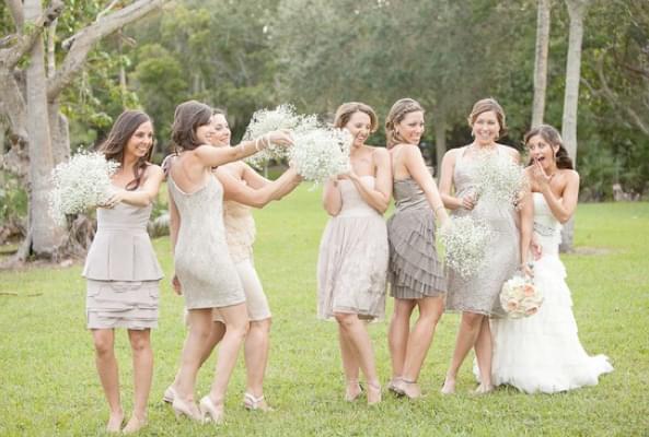 szare sukienki dla druhny blog slubny