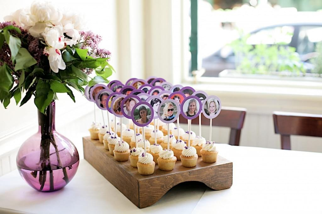 słodkie winietki dla gości wesele