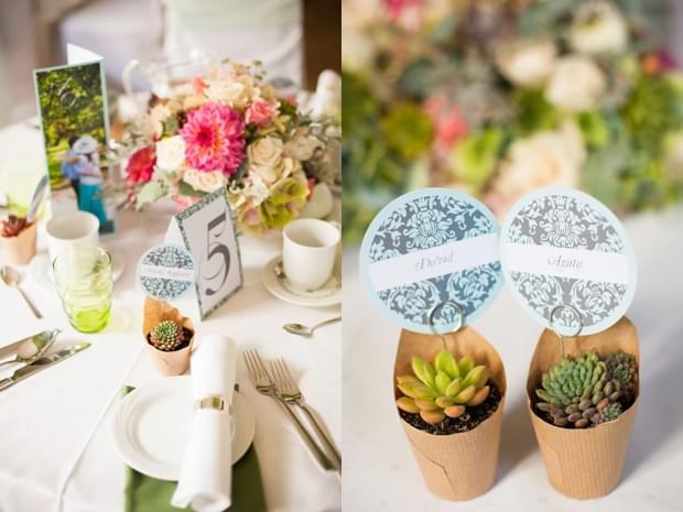 upominki dla gości weselnych sukulenty