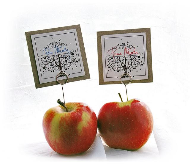 winietki z jabłek