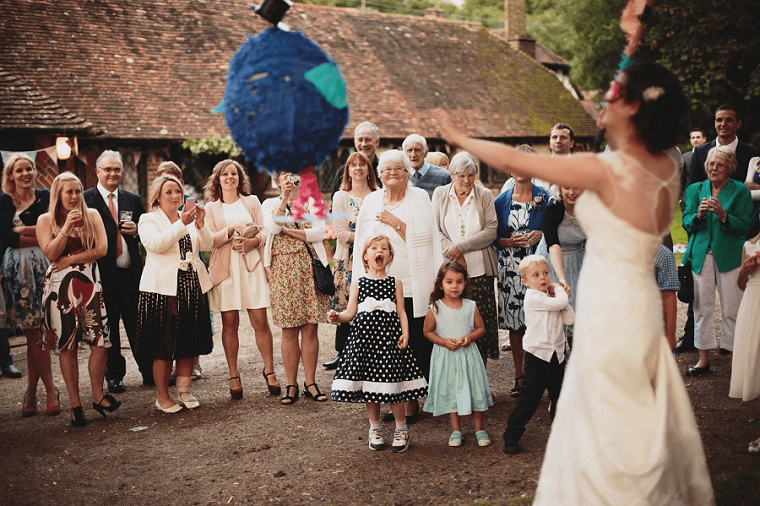 zabawa wesele piniata