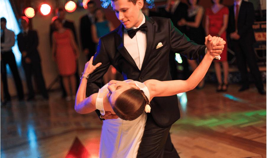 zdjęcia z pierwszego tańca