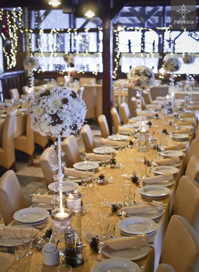 zimowe wesele dekoracje (2)