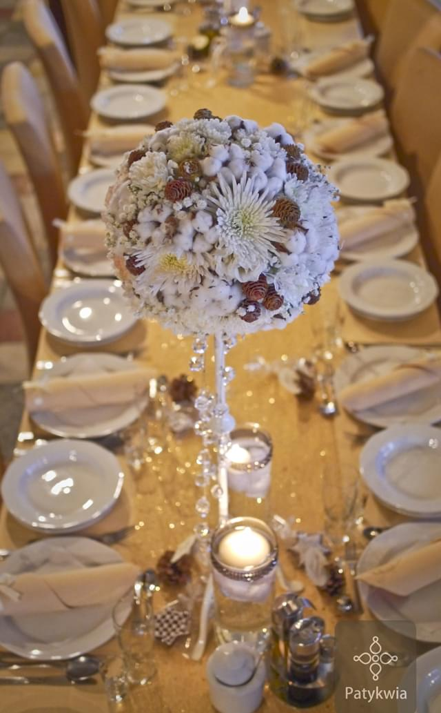 zimowe wesele dekoracje (3)